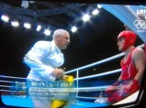 Boksininkas Evaldas Petrauskas Londono olimpiados pusfinalyje