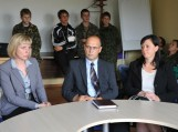 Pokalbis prie apskrito stalo tarp Šilutės jaunimo ir savivaldybės vadovų