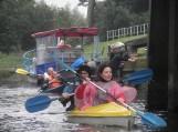 Ekologinis žygis Nemuno deltoje su ekstremaliais pojūčiais