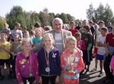 """Tradicinis pagarbos bėgimas """"Natkiškiai – 2012"""" skirtas tragiškai žuvusios felčerės Zosės Petraitienės garbei atminti"""