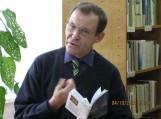 Poetas ir pradedantysis prozininkas Audrius Šikšnius. Nuotraukos Klemenso Stulgos