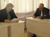 Konstitucijos egzaminas Pirmojoje gimnazijoje. Nuotrauka Pirmosios gimnazijos