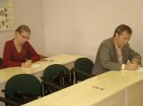 Konstitucijos egzaminas. Nuotraukos Šilutės r. savivaldybės ir Pirmosios gimnazijos