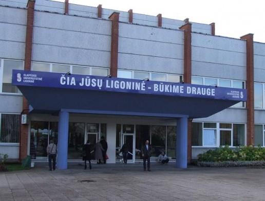 Klaipėdos universitetinė ligoninė. Nuotrauka Gintaro Radzevičiaus