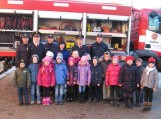 Pagėgių pradinės mokyklos I-IV klasių moksleiviai lankėsi Pagėgių priešgaisrinės gelbėjimo tarnybos patalpose
