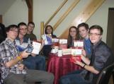 """""""Eurowin draugeliai"""" komanda. Nuotraukos F. Bajoraičio viešosios bibliotekos"""