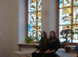 Padovanosime dalyviams Gardamo mokyklos mokinių pagamintus angeliukus