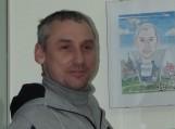 Rusniškiams pristatyta nuotaikinga V. Tisaičio karikatūrų ir šaržų paroda