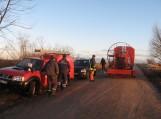 Atstatytas elektros tiekimas sala tapusio Plaušvarių kaimo gyventojams