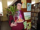 Kūrybinių darbelių paroda bibliotekoje