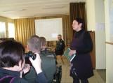 Rusnės gyventojams papasakota apie sienos stebėjimo sistemos įdiegimą