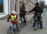 Šilutėje oficialiai prasidėjo dviratininkų sezonas