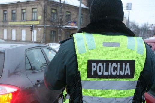 Nuotrauka Policijos departamento