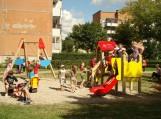 Atidaryta vaikų žaidimų aikštelė