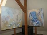 Palangiškės dailininkės Eglės Lipinskaitės jausmų spalvos pristatytos bibliotekoje