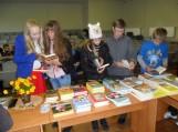 Lankėsi populiarus vaikų rašytojas Vytautas Račickas