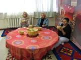 Šilutiškiai nacionalinės bibliotekos kazachų etnografiniame kampelyje