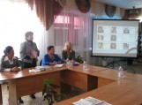 Smirnovo bibliotekoje kalba Kultūros ir kalbų skyriaus vedėja Olga Pliščenko