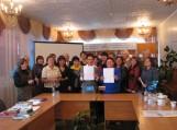 Po partnerystės sutarties tarp Smirnovo rajoninės bibliotekos ir Šilutės F. Bajoraičio viešosios bibliotekos pasirašymo. Nuotraukos Šilutės F. Bajoraičio viešosios bibliotekos