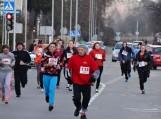 Bėgimas Tauragės miesto gatvėmis