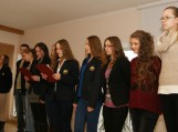 J. Marcinkevičiaus literatūrinės premijos laureatės viešnagė Švėkšnoje