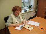 susitikimas su šilutiške knygų autore Filomena Kitova
