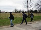 Traksėdžių mokyklos mokiniai tvarkė aplinką