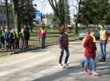 Pradinukai mokėsi saugaus elgesio gatvėse ir keliuose