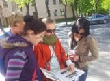 """Projekto """"Bibliotekos jaunimui"""" savanoriai pasiekė finišo tiesiąją"""