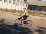 Traksėdžių pagrindinės mokyklos mokiniai gavo dviračio vairuotojų pažymėjimus