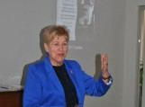 K. Donelaičio kraštiečių klubo Kaliningrade pirmininkė Olga Dubovaja