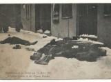 Klaipėda 1915 m. kovo 21 d. Gatvės kautynių metu žuvę rusų kareiviai.