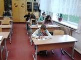 Traksėdžių pagrindinės mokyklos mokiniai – Konstitucijos egzamino dalyviai