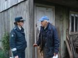 Policija rūpinasi senyvo amžiaus žmonėmis