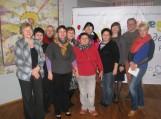 Nuotrauka istorijai: projekto vykdytojai ir organizatoriai su kolegomis kaliningradiečiais. Nuotraukose iš bibliotekos archyvo
