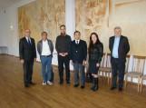 Savivaldybės atstovai su svečiais iš Japonijos apžiūrėjo naujai įrengtą biokuro katilinę