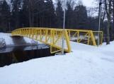 Pėsčiųjų ir dviračių tiltas per Šyšą