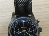 """Kratų metu rastas """"Breitling"""" laikrodis, kurio vertė apie 14 400 eurų. Nuotraukos Tauragės AVPK"""