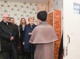 Prezidentė Dalia Grybauskaitė Švėkšnos ugdymo centre. Nuotrauka President.lt