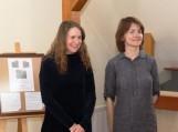 Eglė Čėjauskaitė-Gintalė (kairėje)  ir Jurgita Erminaitė-Šimkuvienė (dešinėje). Nuotraukos bibliotekos