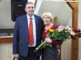Rūta Emigart Čiuželienė su vyru