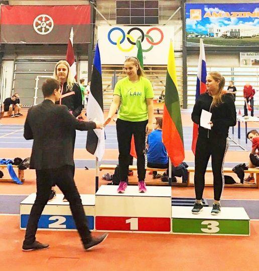 5 kartus gerintas asmeninis rezultatas Gintarei Paulauskaitei atnešė I vietą