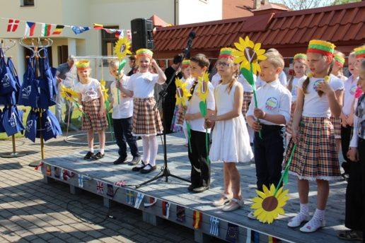 2016 m. Europos dienos šventės akimirka. Nuotrauka bibliotekos