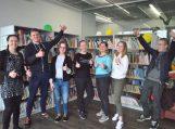 """Pagėgių krašto neformalios jaunimo organizacijos """"Z Karta"""" nariai"""