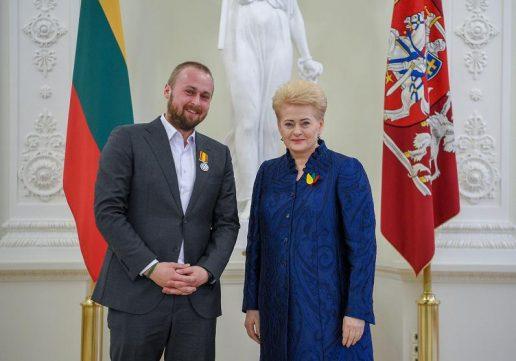 Lietuvos Respublikos Prezidento kanceliarijos nuotrauka.