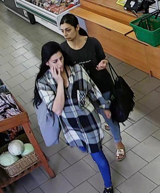 Įtariamos moterys. Nuotrauka Tauragės AVPK
