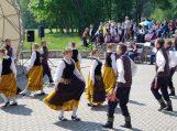 Vydūno gimnazijos liaudiškų šokių kolektyvas Žvilgis