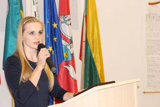 Lijana Jagintavičienė. Nuotrauka Šilutės r. savivaldybės