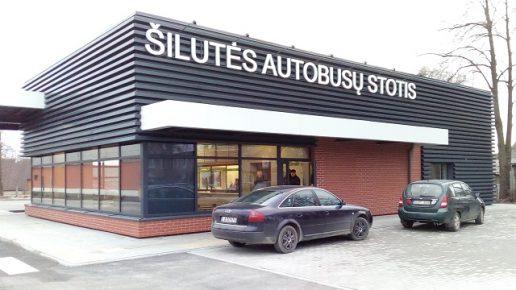 Nauja Šilutės autobusų stotis. Nuotrauka Gintaro Radzevičiaus