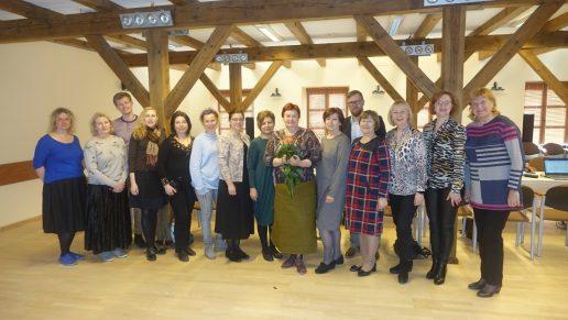 Nuotraukoje naujos kadencijos Mažosios Lietuvos regioninės etninės kultūros globos tarybos nariai. Nuotrauka S. Sodonio
